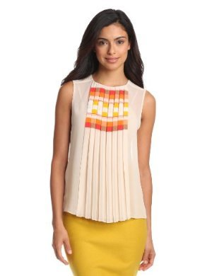 Vince Camuto<br>Pleat Front Shell