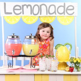 Make Lemonade: Servingware