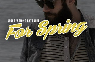 Light Weight Layering For Spring