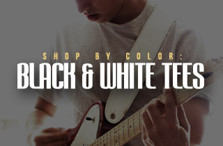 Shop By Color: Black & White Tees