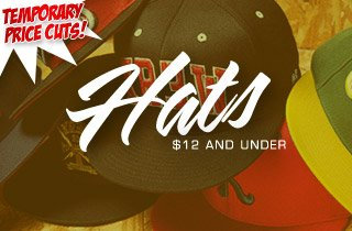 Price Cut: Hats