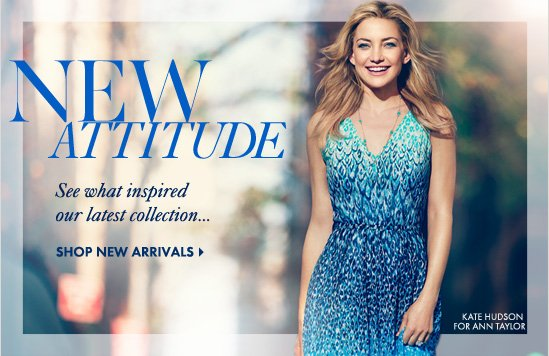 NEW ATTITUDESee what inspired our latest collection…SHOP NEW ARRIVALS