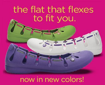 the flat that flexes to fit you. now in new colors!