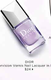 new. Dior Vernis Nail Lacquer in Lilac 398, $24