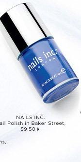 nails inc. Nail Polish in Baker Street, $9.50