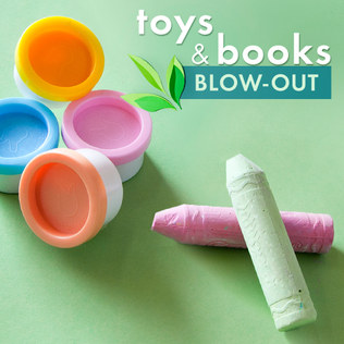 Toys & Books Blow-Out