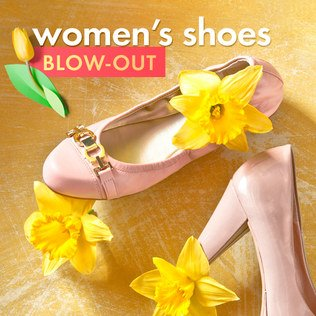 Women's Shoes Blow-Out