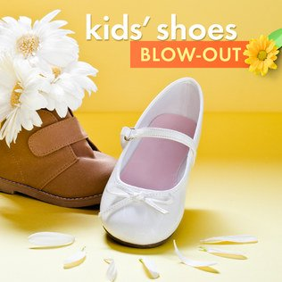 Kids' Shoes Blow-Out