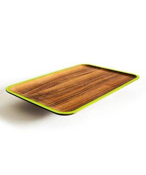 Wood Platter-green