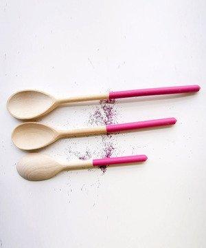 Sugar Plum Dipped Spoons
