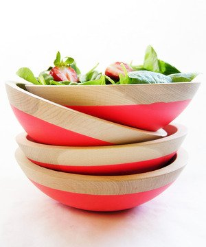 Sunset Dipped Bowls