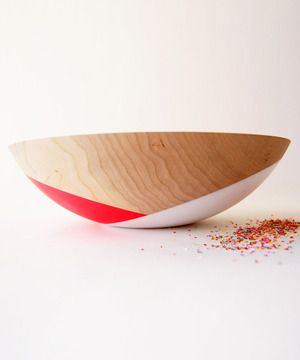 Wildflower Dipped Bowl