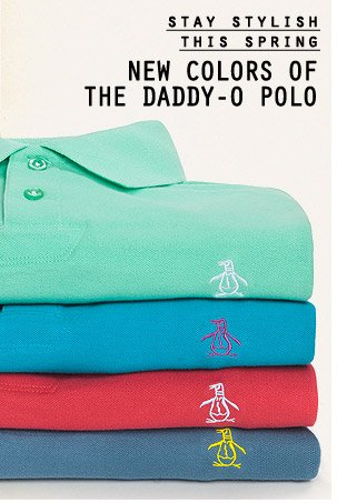 Stay Stylish this Spring - New Colors of the Daddy-O Polo