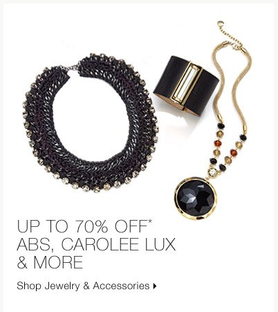 Up To 70% Off* ABS, Carolee Lux & More