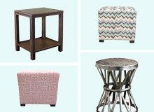 Side Tables & Ottomans