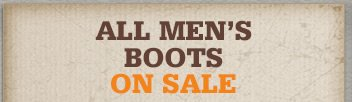 All Men's Boots on Sale