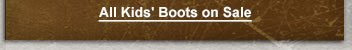 Shop All Kids' Boots on Sale
