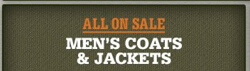 All Men's Coats and Jackets on Sale