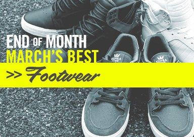 Shop Best of March: Footwear