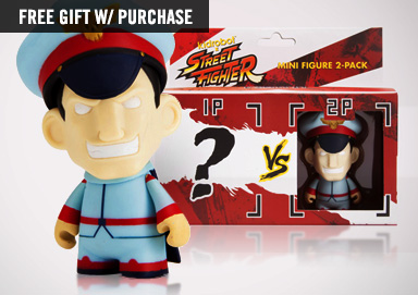 Shop New Kidrobot ft. Street Fighter Mini
