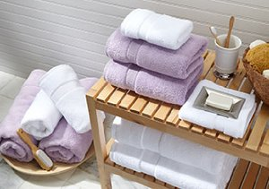 Luxurious Bath Towels