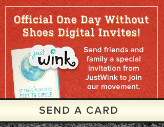 Official One Day Without Shoes Digital Invites