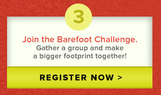 3. Join the Barefoot Challenge
