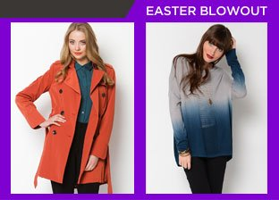Easter Weekend Blowout: Women's Tops from $1