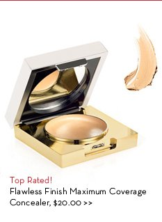 Top Rated! Flawless Finish Maximum Coverage Concealer, $20.00.