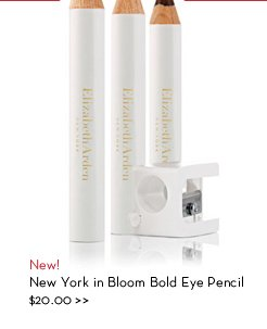 New! New York in Bloom Bold Eye Pencil, $20.00.