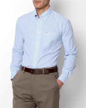 Tommy Hilfiger Academy Poplin Stripe Patterned Button-Up