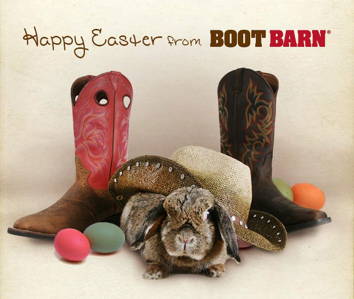 Happy Easter From Boot Barn