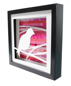 Song Bird Shadow Box