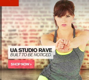 UA STUDIO RAVE - BUILT TO BE NOTICED. SHOP NOW