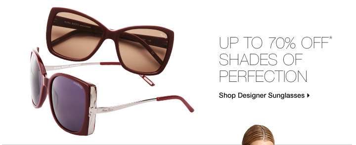 Up To 70% Off* Shades Of Perfection