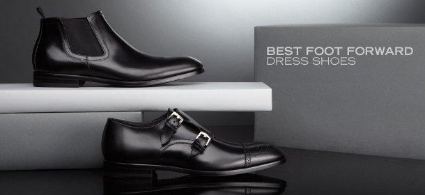 BEST FOOT FORWARD: DRESS SHOES, Event Ends April 3, 9:00 AM PT >