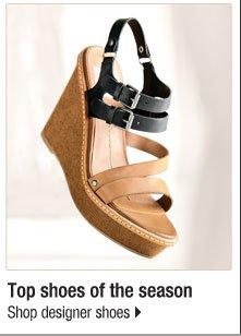 Top shoes of the season. Shop designer shoes.