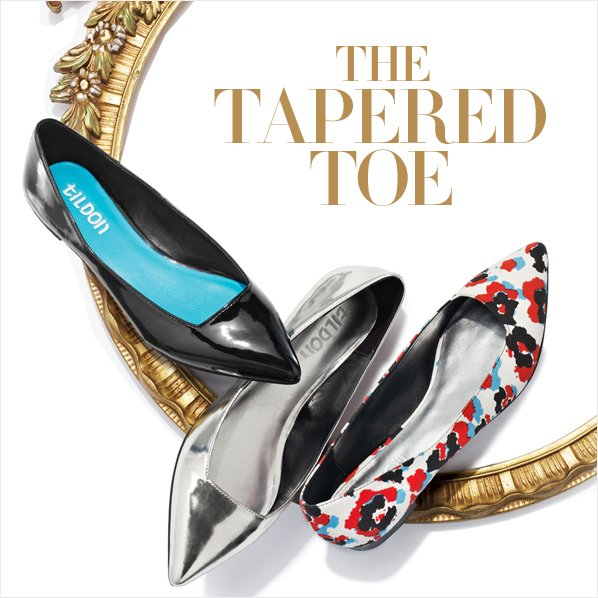THE TAPERED TOE