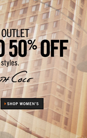 ONLINE OUTLET GET UP TO 50% OFF SELECT STYLES // SHOP WOMEN'S