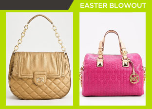 Easter Weekend Blowout: Designer Handbags from $1