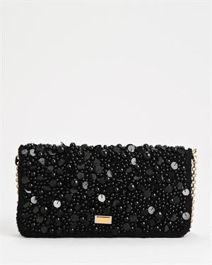 Dolce & Gabbana LU Beaded & Sequined Evening Bag $629