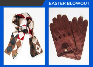 Easter Weekend Blowout: Accessories from $1