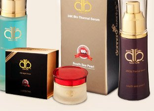 Donna Bella 24k Cosmetics Made in USA
