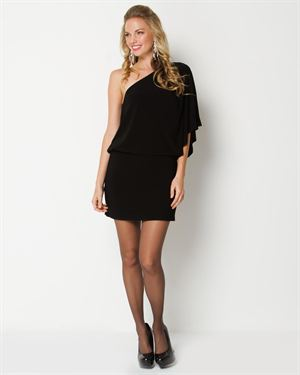 Tiana B. Draped Mini Dress - Made In The USA $39