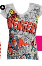 The Avengers Comic Tee