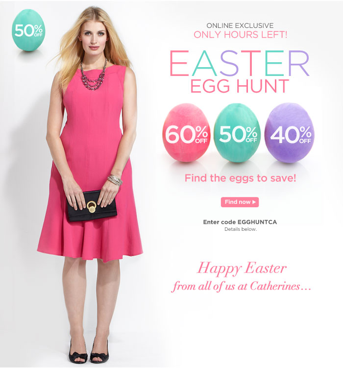 Easter Egg Hunt! Find the Eggs and Save!