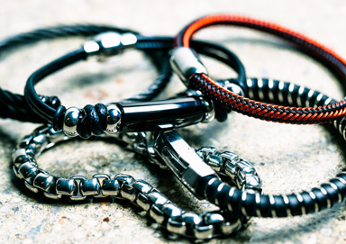 Shop Mixed Material Jewelry for Men