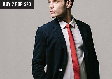 Shop Tie One On: Solids, Plaids & Prints