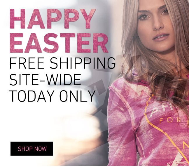 Happy Easter – Free Shipping Site Wide!