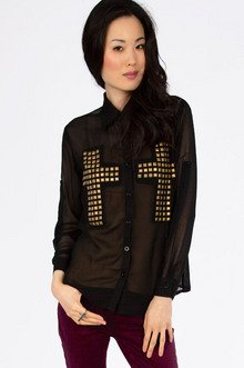 Double Cross Blouse $22